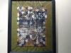 Healing the Mother: jigsaw puzzle, pins, threads.