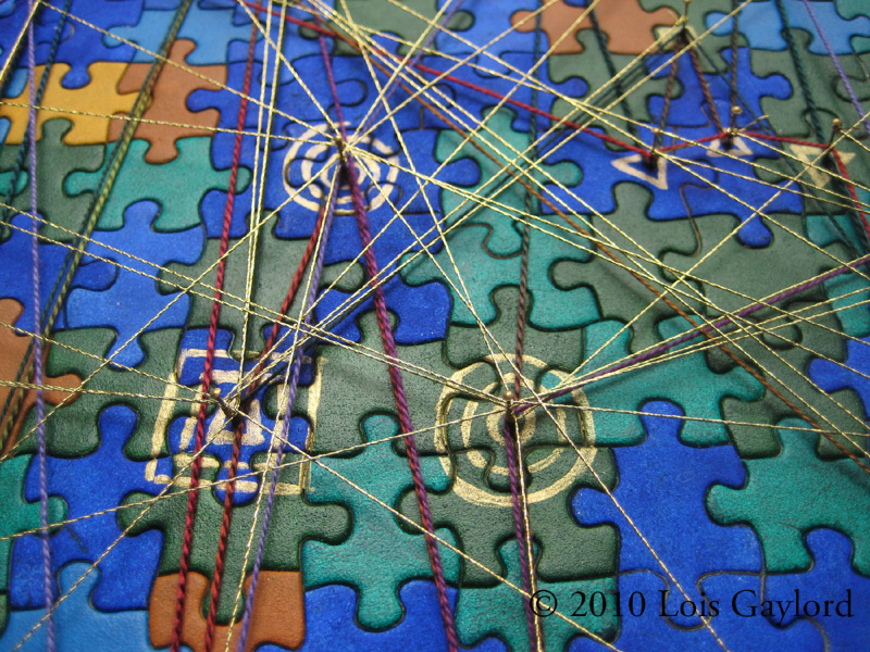 """""""Finding the Patterns in the Puzzle of Life - Detail"""